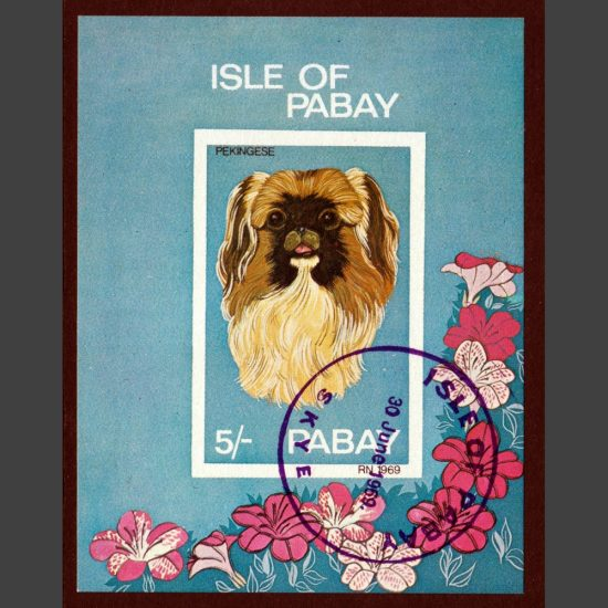 Pabay 1969 Dogs Sheetlet (5s, CTO)