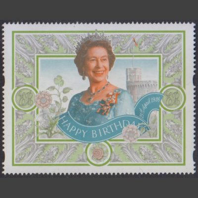 Great Britain 1996 Queen's 70th Birthday Label (U/M)