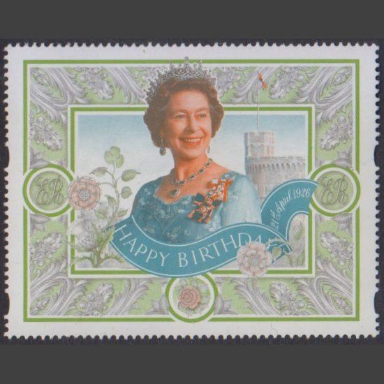 Great Britain 1996 Queen's 70th Birthday Label (U/M)