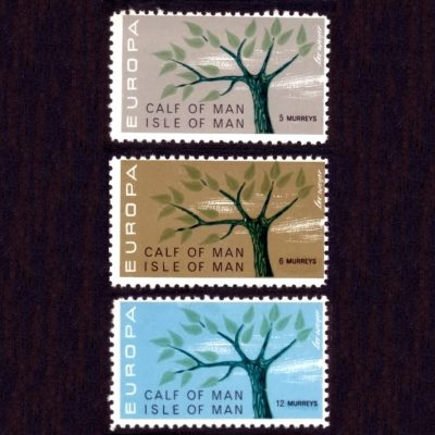 Calf of Man 1962 Europa Part Set (3v, 5m to 12m, U/M)