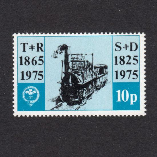 Talyllyn Railway 1975 150th Anniversary of the Stockton and Darlington Railway 10p (U/M)