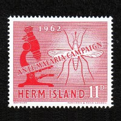 Odd 11d value from the 1962 Anti Malaria set of three
