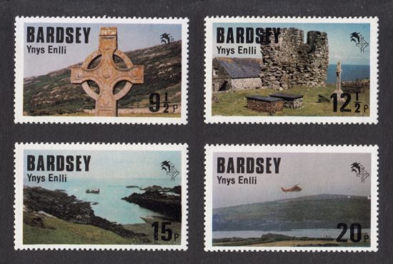 Bardsey 1980 Royal Visit of the Prince of Wales Set (4v, 9½p to 20p, U/M)