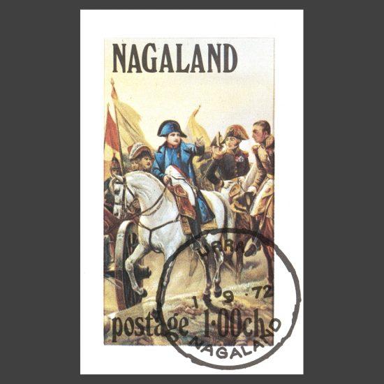 Nagaland 1972 Napoleon Sheetlet (1ch, CTO)