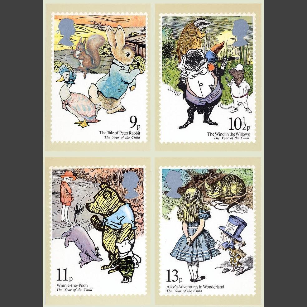 Postcards - Royal Mail PHQ 37 1979 Year of the Child (4v)