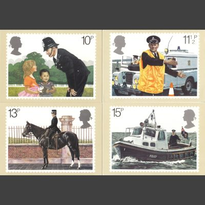 Postcards - Royal Mail PHQ 39 1979 Police (4v)