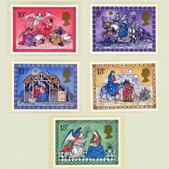 Postcards - Royal Mail PHQ 40 1979 Christmas (5v)