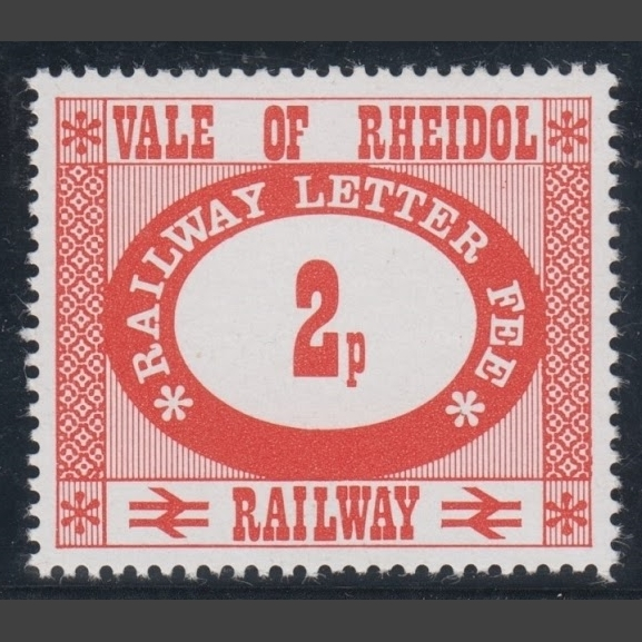 Vale of Rheidol Railway 1973 2p Definitive (U/M)
