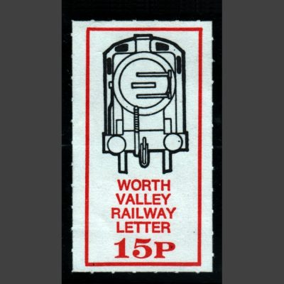 Keighley and Worth Valley Railway 1979 15p Definitive (U/M)