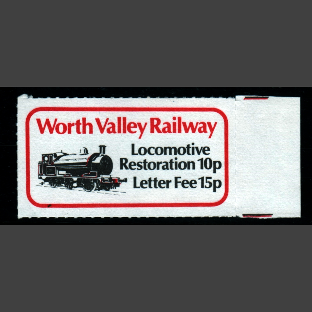 Keighley and Worth Valley Railway 1980 15+10p Locomotive Restoration (U/M)