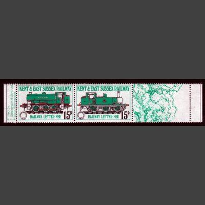 Kent & East Sussex Railway 1979 15p Definitives (2v, U/M)