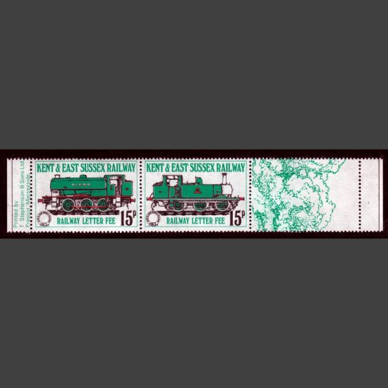 Kent & East Sussex Railway 1979 15p Definitives (2v, U/M)
