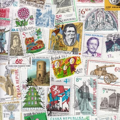 Czech Republic - Collection of 25 Different Used Stamps