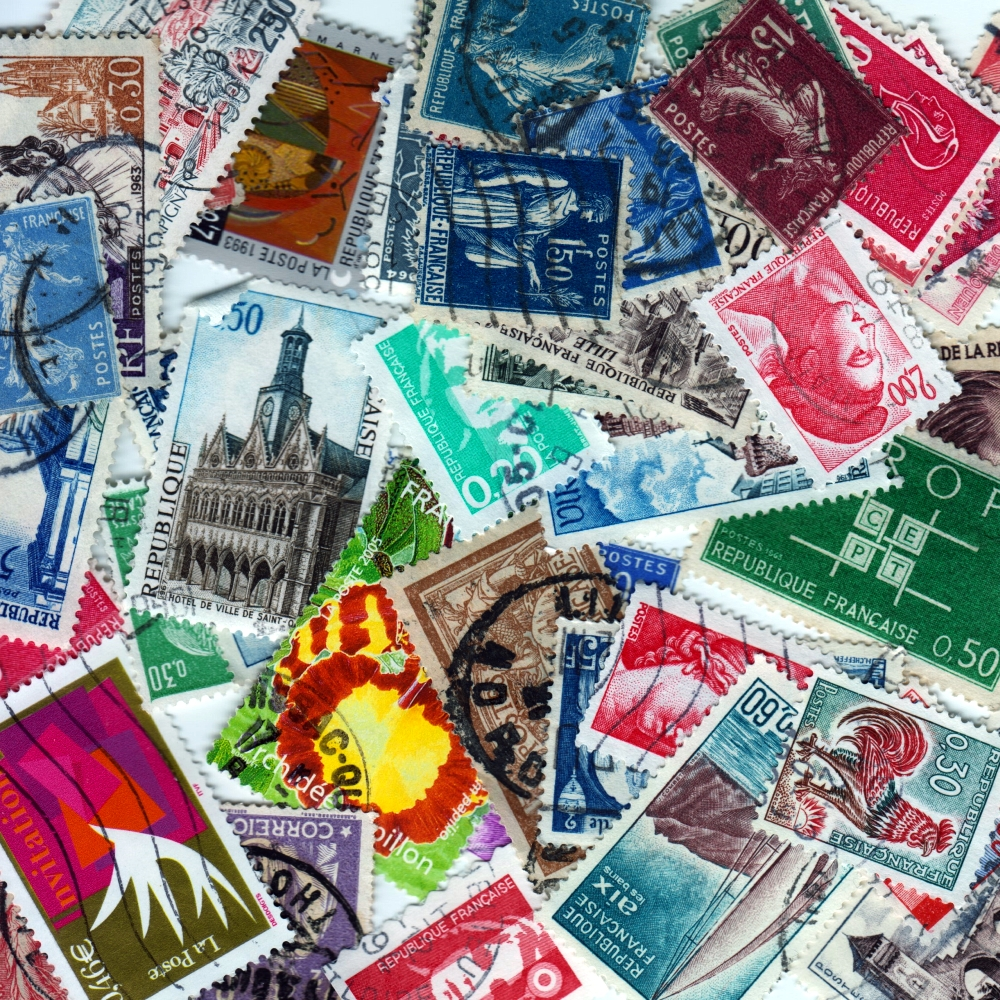 France - 50 Different Used Stamps - Lot 5