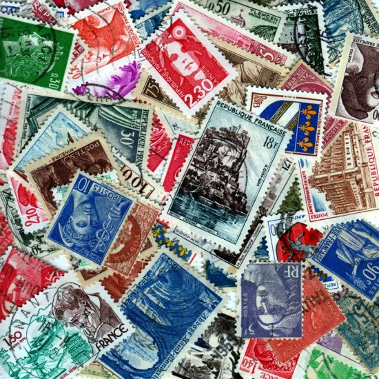 France - 50 Different Used Stamps - Lot 6