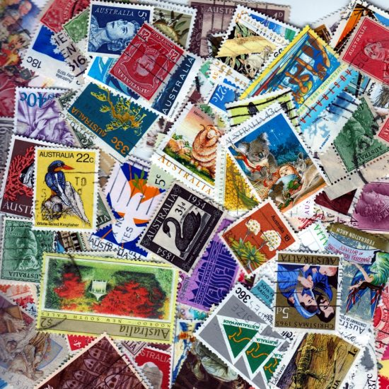 Australia - 100 Different Used Stamps - Lot 7