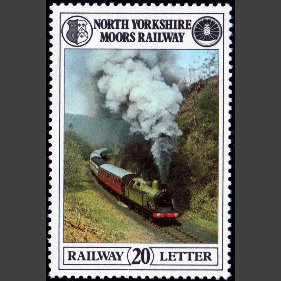 North Yorkshire Moors Railway 1981 20p Definitive (U/M)