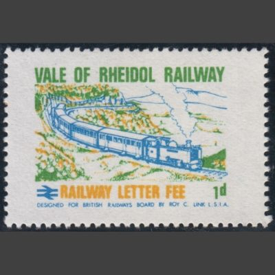 Vale of Rheidol Railway 1970 1d Definitive (U/M)
