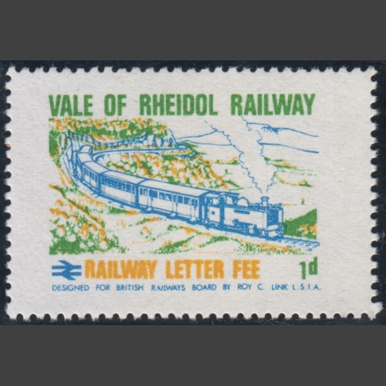 Vale of Rheidol Railway 1970 1d Definitive (U/M)