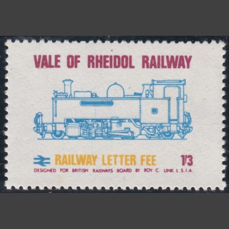 Vale of Rheidol Railway 1970 1s3d Definitive (U/M)