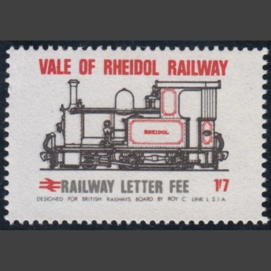 Vale of Rheidol Railway 1970 1s7d Definitive (U/M)