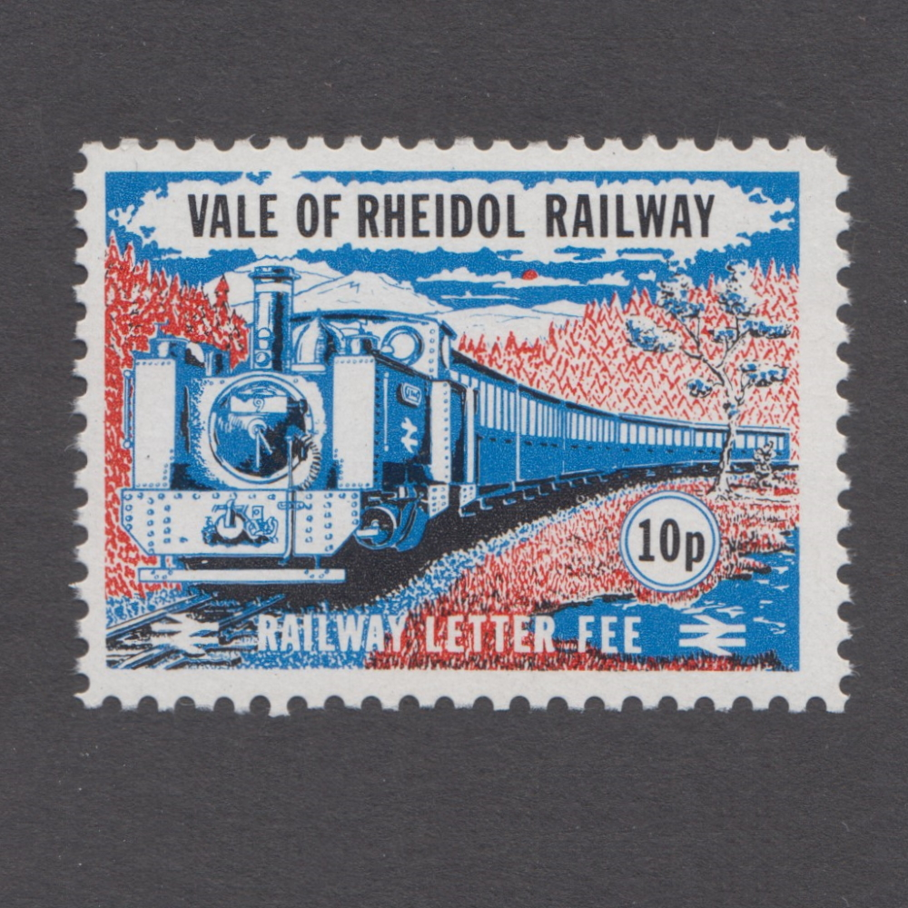 Vale of Rheidol Railway 1971 10p Definitive (U/M)