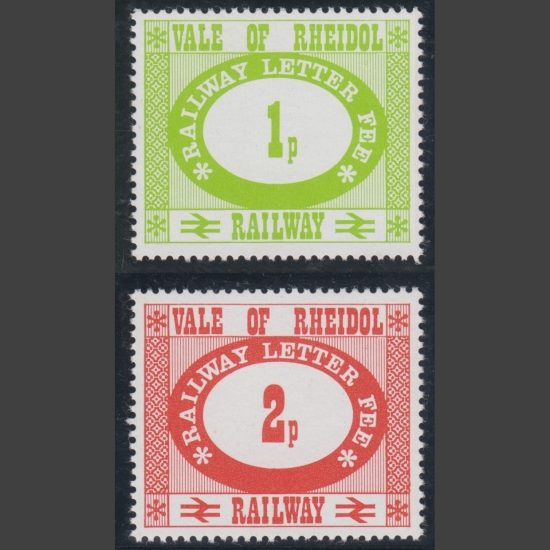 Vale of Rheidol Railway 1973 Definitives (2v, U/M)