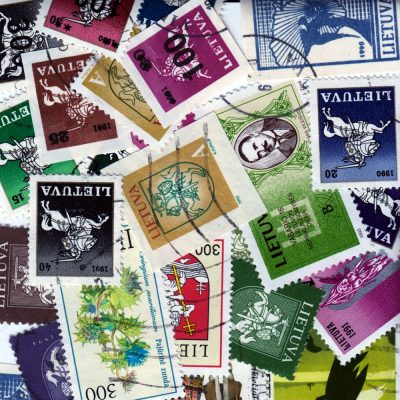 Lithuania - Collection of 25 Different Modern Used Stamps