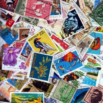 Australia - 100 Different Used Stamps - Lot 8