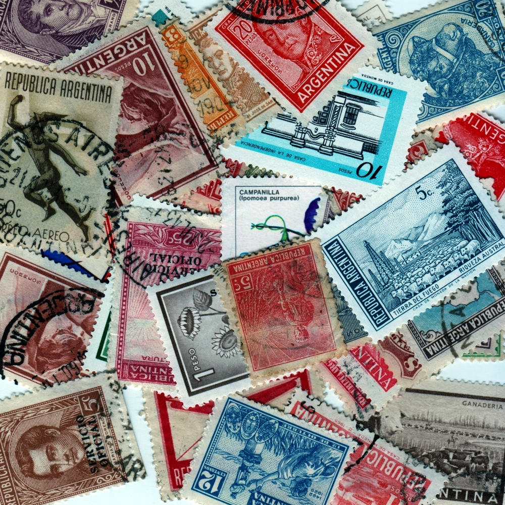 Argentina - 50 Different Used Stamps - Lot 1