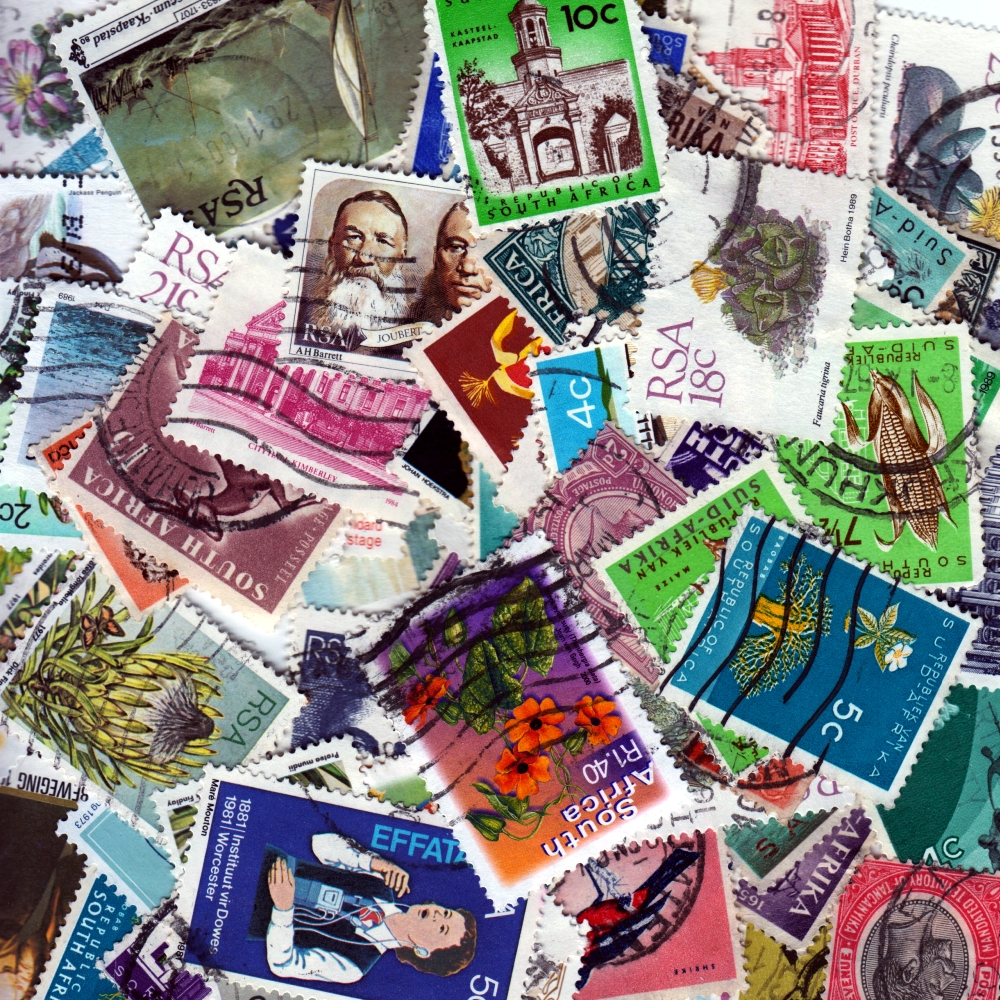 South Africa - 100 Different Used Stamps - Lot 1