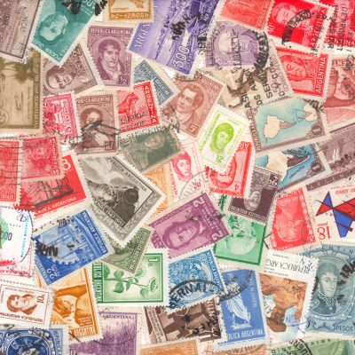 Argentina - 50 Different Used Stamps