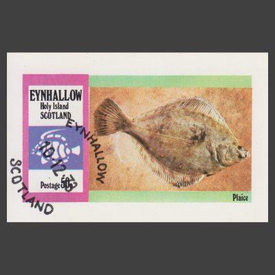 Eynhallow / Holy Island 1973 Plaice Sheetlet (50p)