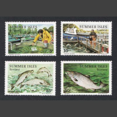 Summer Isles 1984 Salmon (4v, 5p to 50p, U/M)