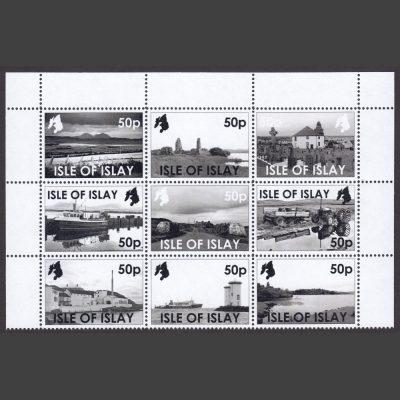 Islay 2018 Islay in Monochrome (9 x 50p, U/M)