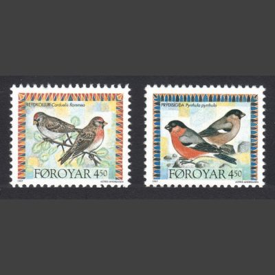 Faroe Islands 1997 Birds (2nd Series) (SG 321-322, U/M)