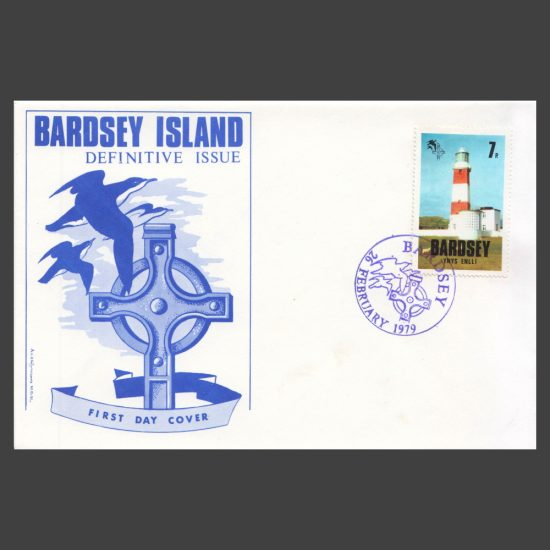 Bardsey 1979 7p Definitive on First Day Cover (FDC)