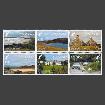 Colonsay 2018 Local Scenes (6v, 10p to £1, U/M)