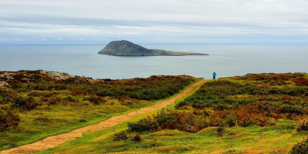 Bardsey from Mynydd Mawr. Photograph by Graham Soult