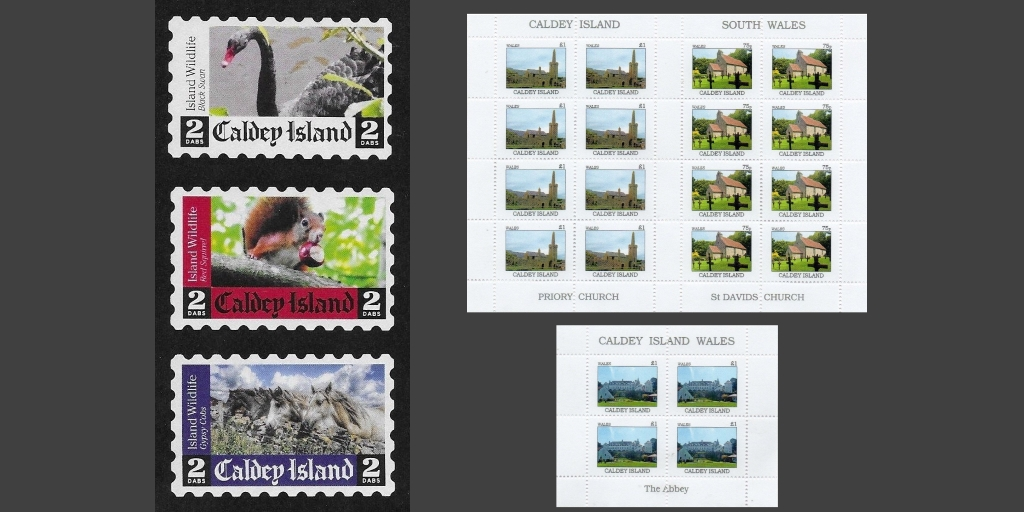 2018 Island Wildlife issue on the left, and an apparently unofficial 2018 issue on the right