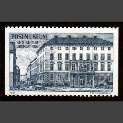 Sweden 1981 Stockholm Postmuseum Poster Stamp (U/M)