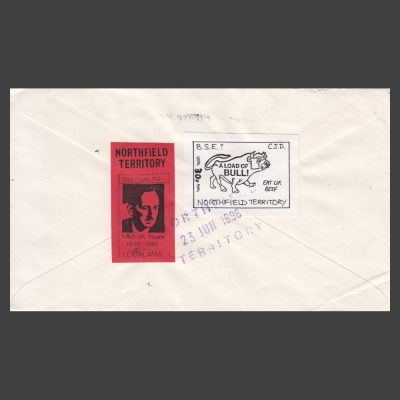 """Northfield Territory"" 1996 Cinderella Labels Used on Cover"
