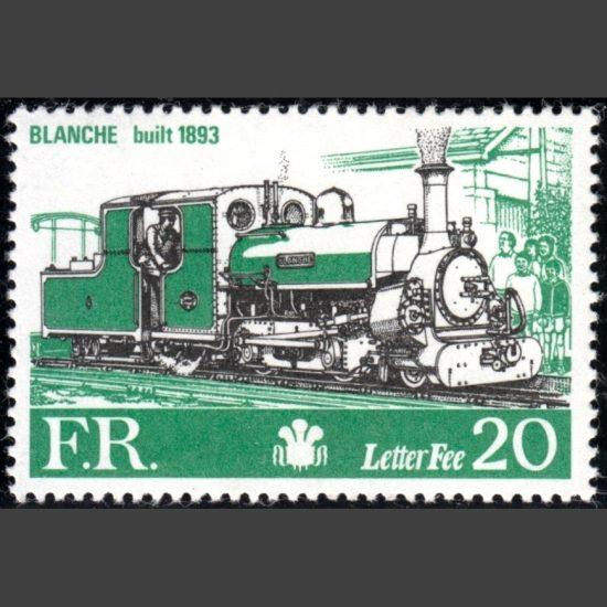 Ffestiniog Railway 1981 20p Blanche Definitive (U/M)