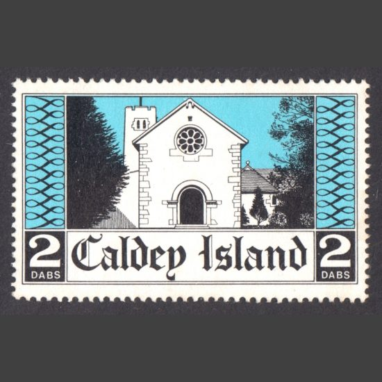 Caldey Island 1973 Monastery Church (2 Dabs, U/M)