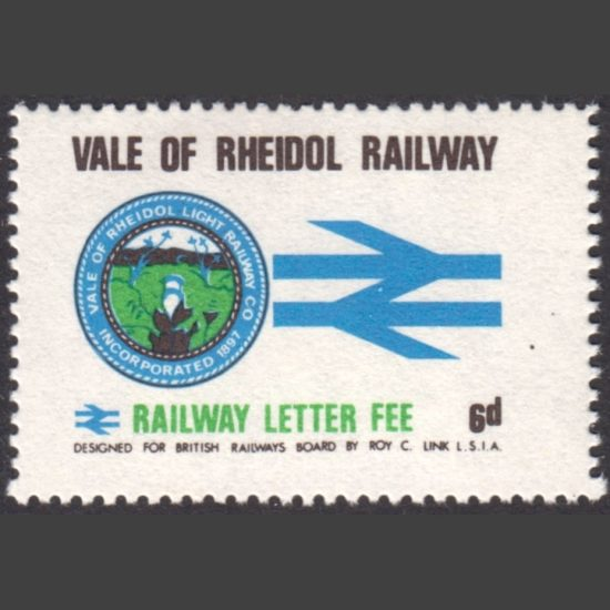 Vale of Rheidol Railway 1970 6d Definitive (U/M)