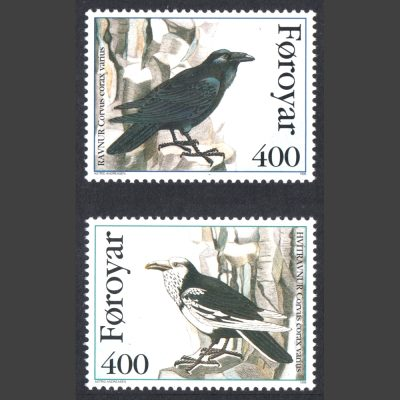 Faroe Islands 1995 The Raven (SG 277-278, U/M)