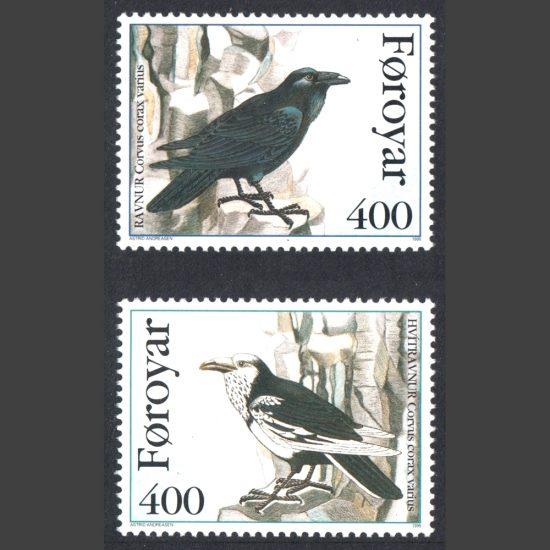 Faroe Islands 1995 The Raven (SG 277-278, U/M)