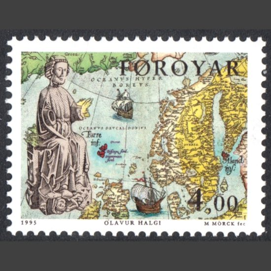 Faroe Islands 1995 Birth Millenary of St Olaf (SG 279, U/M)