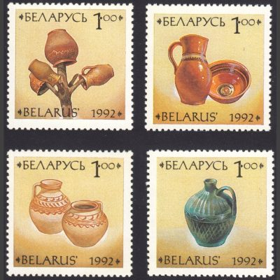 Belarus 1992 Pottery (SG 40-43, U/M)