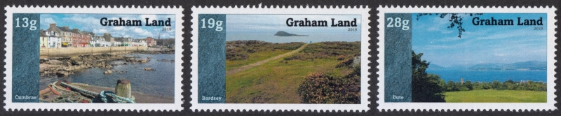2019 Graham Land Cinderella stamp issue